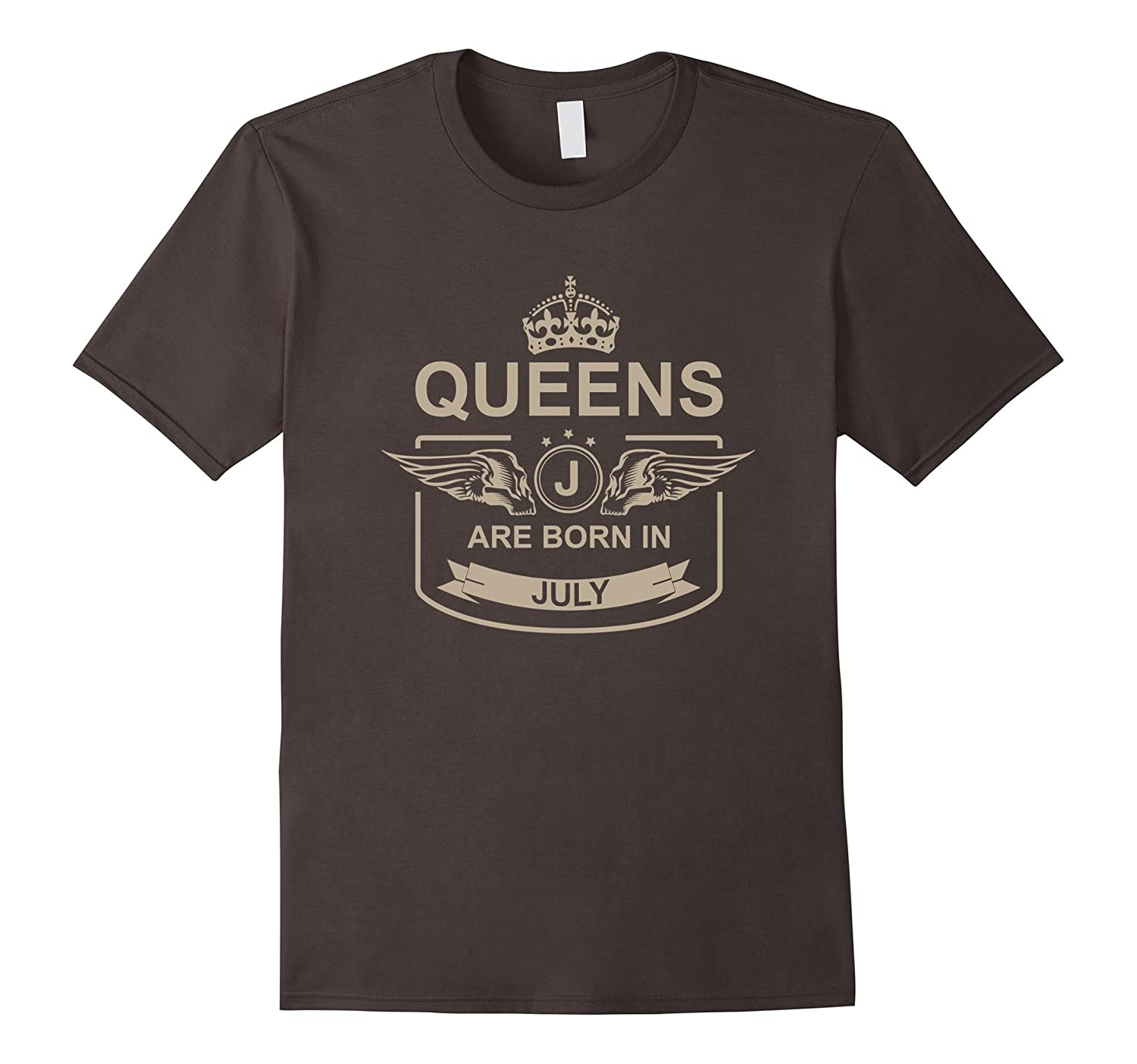 Womens Queens Are Born In July Birthday T Shirt Quotes Mugs Cd