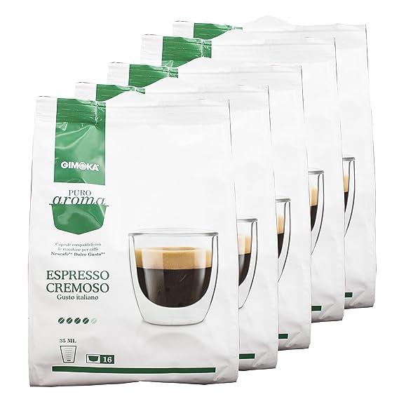Aroma de café Gimoka puro Cremoso, gusto Italiano, café, café de cápsulas de
