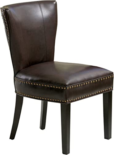 Best Selling Jackie Leather Accent Dining Chair