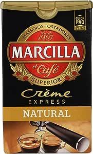 Marcilla Crème Express Café Molido Natural - 250 g: Amazon