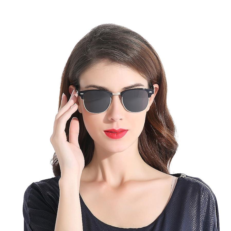 89db59d947d CHB Designer Inspired Classic Frame Horned Rim Wayfarer Sunglasses for men  women Polarized UV400