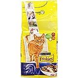 Friskies - con Tonno e verdure Aggiunte, Alimento Completo per Gatti Adulti - 2000 g