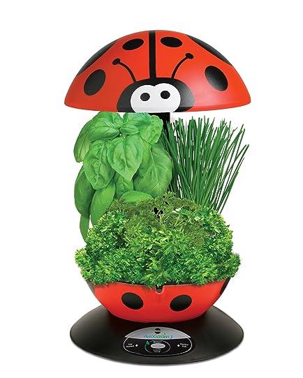 AeroGrow 900245-1208 3-Pod Indoor Garden with Gourmet Herb Seed ...