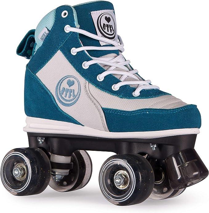 Rollerskates Discoroller BTFL Trends- Rollschuhe f/ür Damen M/ädchen
