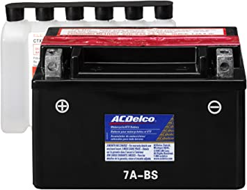 Amazon.com: ACDelco ATX7ABS Specialty AGM Powersports JIS 7A-BS ...