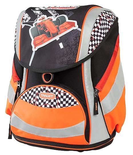 Target Sac à Dos scolaire Formula Mochila Infantil, 44 cm, (Noir Avec détails