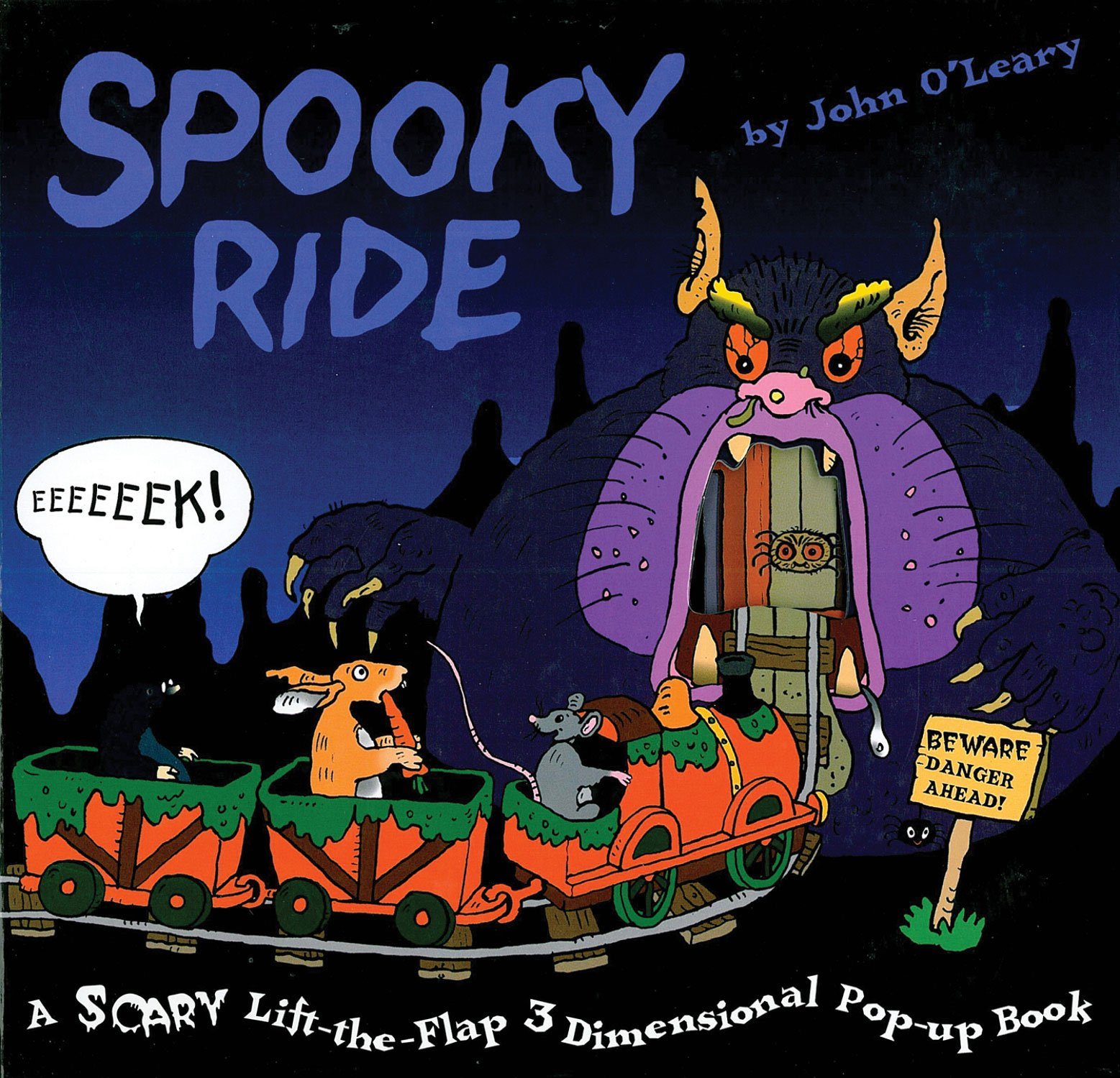 Download Spooky Ride: A Scary Pop-Up Book! (Scary Lift-the-flap 3-d Pop-up Book) pdf