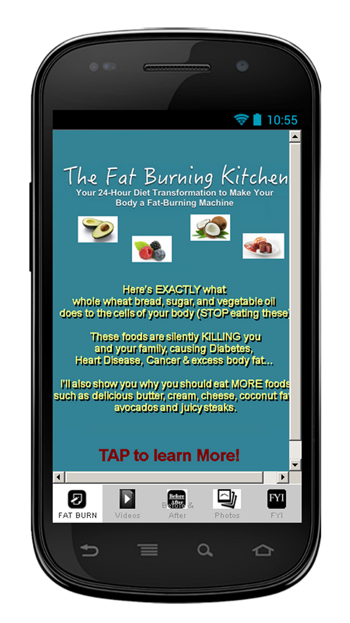 Amazon.com: Fat Burning Kitchen: Appstore for Android