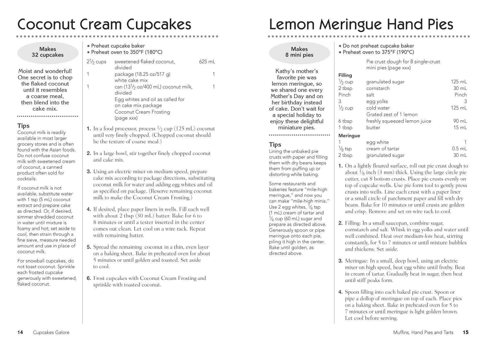 The big book of babycakes cupcake maker recipes: homemade bite.