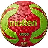 Molten Handball H2X5000-BW-X Spielball 10er Paket blau weiß gold Größe 2 Weitere Ballsportarten Bälle