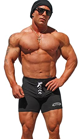 a4e5d090eecd04 Physique Bodyware Men s Lace-Up Workout Shorts. Made In USA at ...
