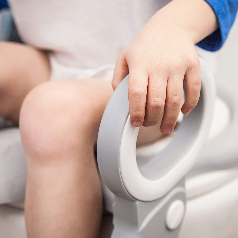Amazon.com: Potty - Asiento de inodoro con escalera: silla ...