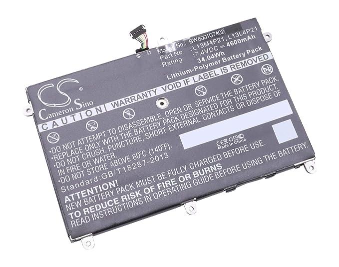 vhbw Li-Polymer batería 4600mAh (7.4V) para Notebook Laptop ...