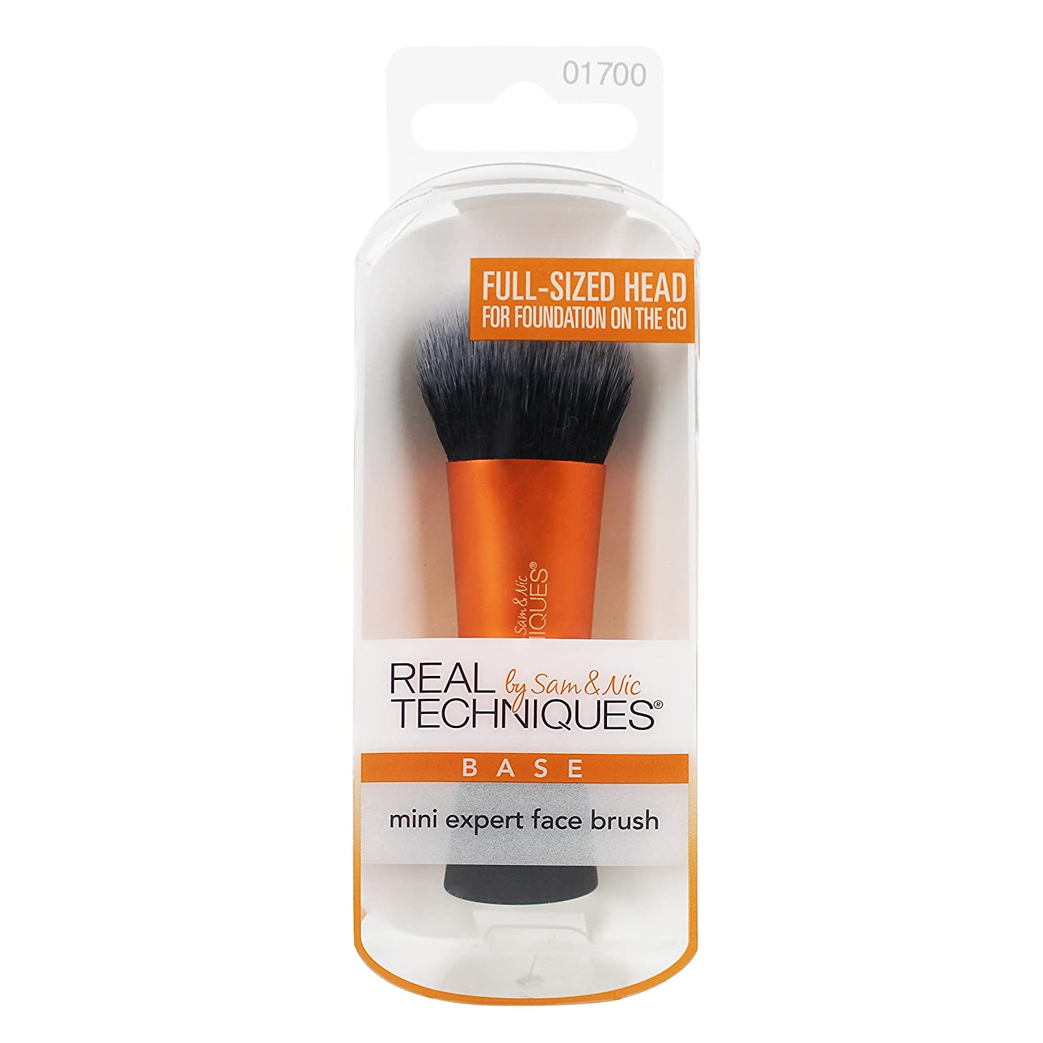 Real Techniques Mini Expert Face Brush New, 1 Count Paris Presents 1700M