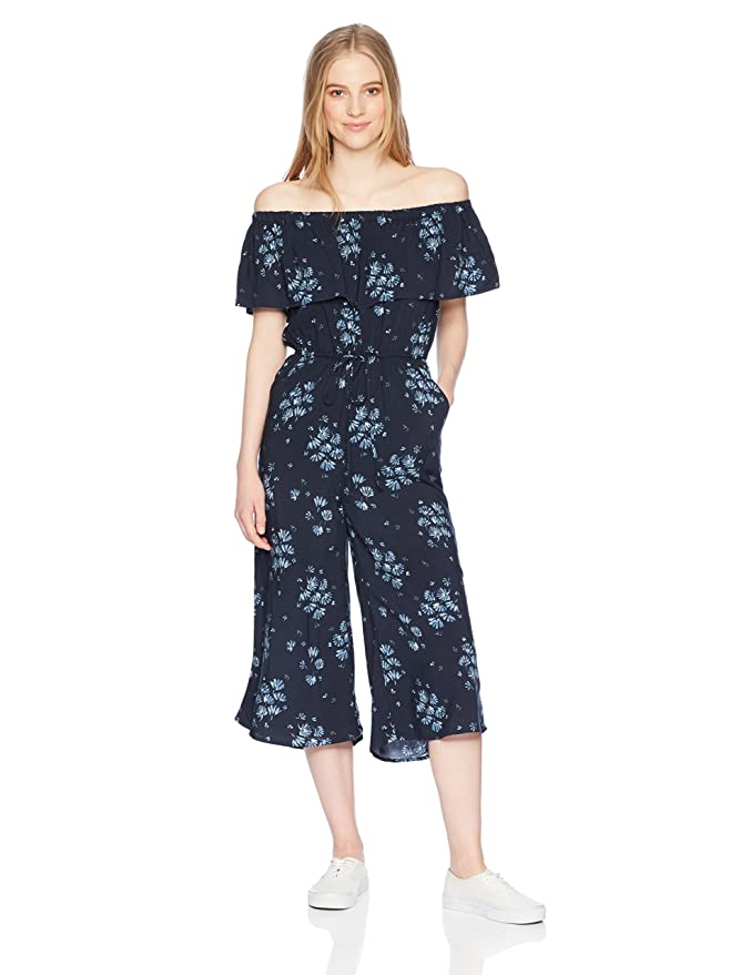 f1f2190f3bf7 Jack by BB Dakota Women s Hewitt Blue Dreams Printed Midi Length Jumpsuit  at Amazon Women s Clothing store