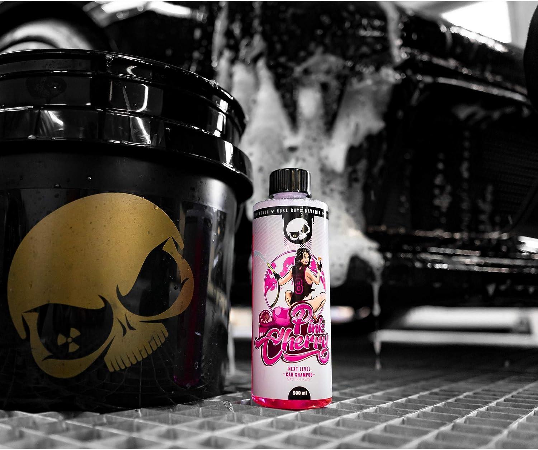 Nuke Guys Pink Cherry Autoshampoo 500ml Hochschäumend Ultra Reinigungskraft Autopflege Handwäsche Beyond Chemical Detailing Lifestyle Auto
