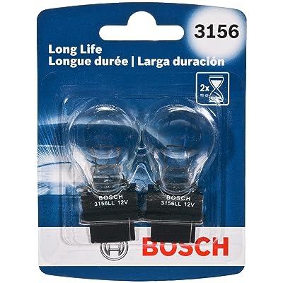 Bosch 3156 Long Life Upgrade Minature Bulb, Pack of 2: Automotive