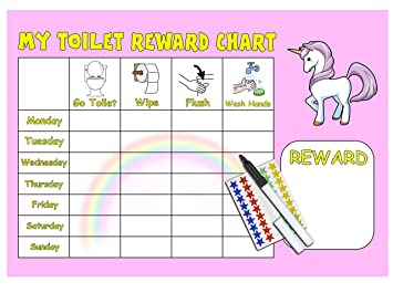 toilet reward chart