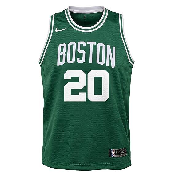 Nike NBA Boston Celtics Gordon Hayward 20 2017 2018 Icon Edition Jersey Official, Camiseta de Niño: Amazon.es: Ropa y accesorios
