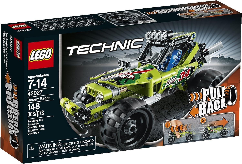 LEGO Technic 42027 Desert Racer Model Kit(Discontinued by manufacturer)