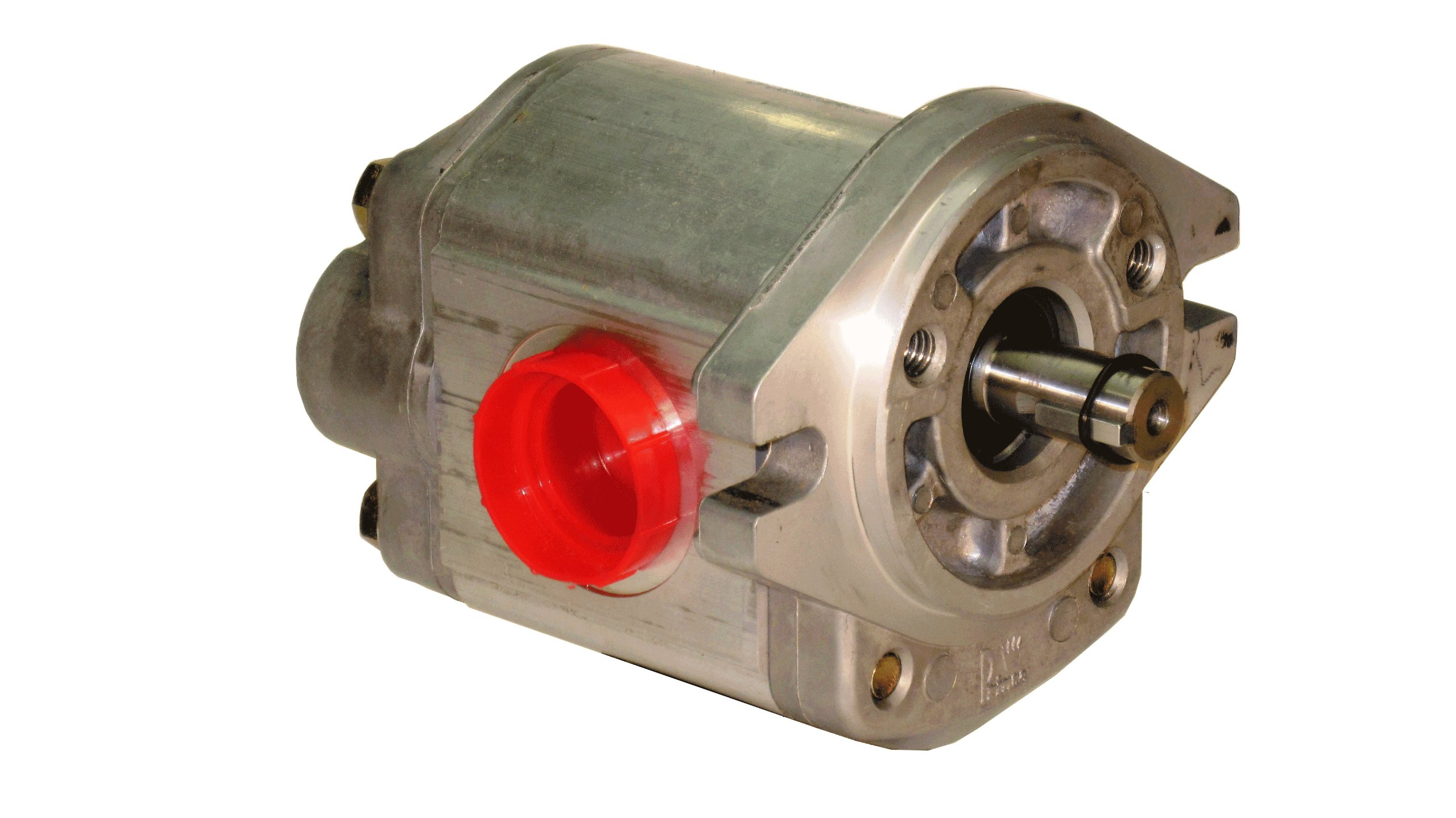 Prince Manufacturing SP20B27A9H2-R Hydraulic Gear Pump, 41.13 HP Motor, 2500 PSI Maximum Pressure, 24.46 GPM Maximum Flow Rate, Clockwise Rotation, Self-Lubricating, SAE A Flange, Aluminum by Prince Manufacturing (Image #1)