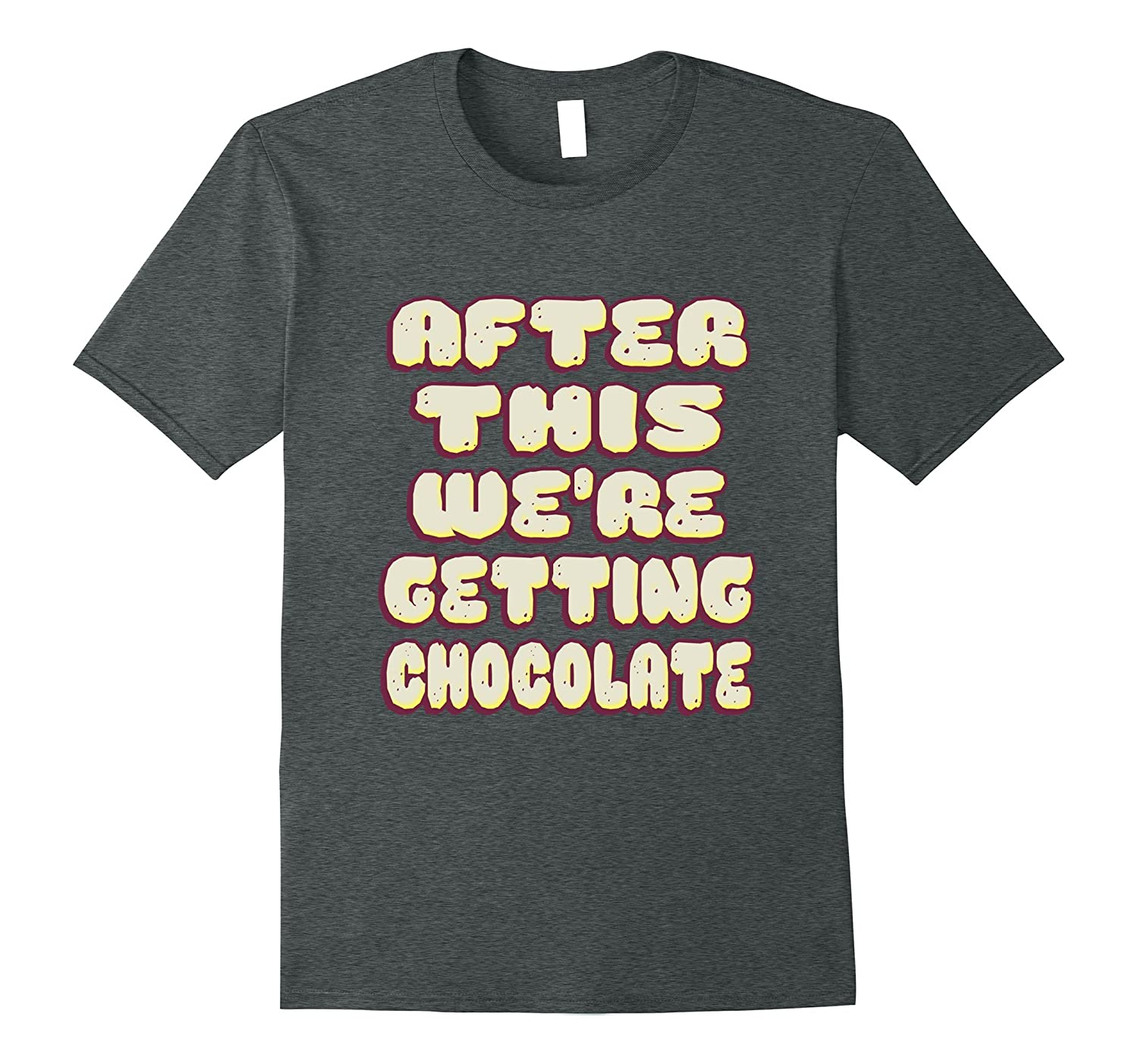 After this were getting chocolate shirt-Vaci