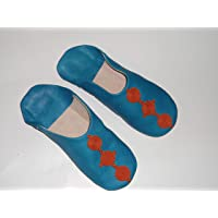 Babouche Slippers Moroccan Marakech Berber Leathe Women Handmade Traditional 2019 Model Mdl Decorated