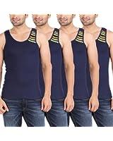 Zippy Men's Swift Sleeveless Vest (Pack of 4)