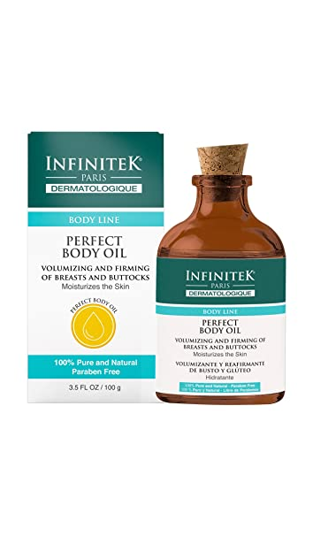 Infinitek Body Treatment Oil Intense Hydrating Miracle Moisturizer |Firming Toning