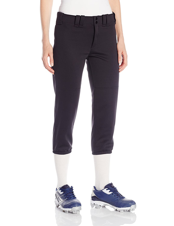 Mizuno Para Mujer De Los Pantalones Grises De Softball vzu781b
