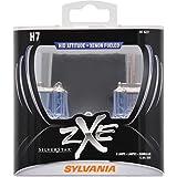 SYLVANIA H7 SilverStar zXe High Performance Halogen Headlight Bulb, (Contains 2 Bulbs)