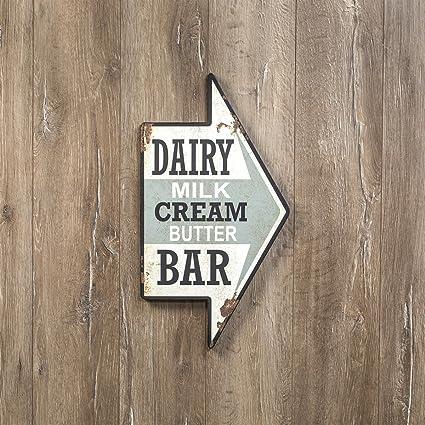 Amazon.com: Cartel de Ragon House Dairy BAR: Kitchen & Dining