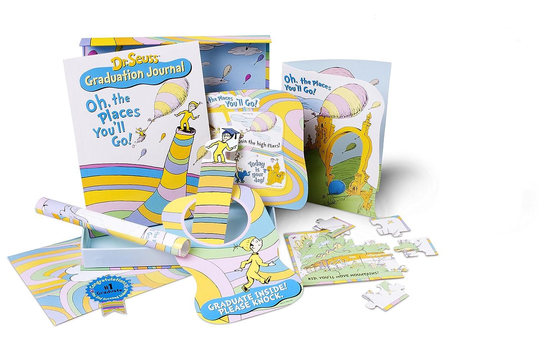 amazon com cartwheel books dr seuss happy graduation gift set oh
