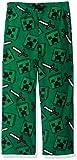 Minecraft Boys' Big Creeper Lounge Pants, Cool, 8