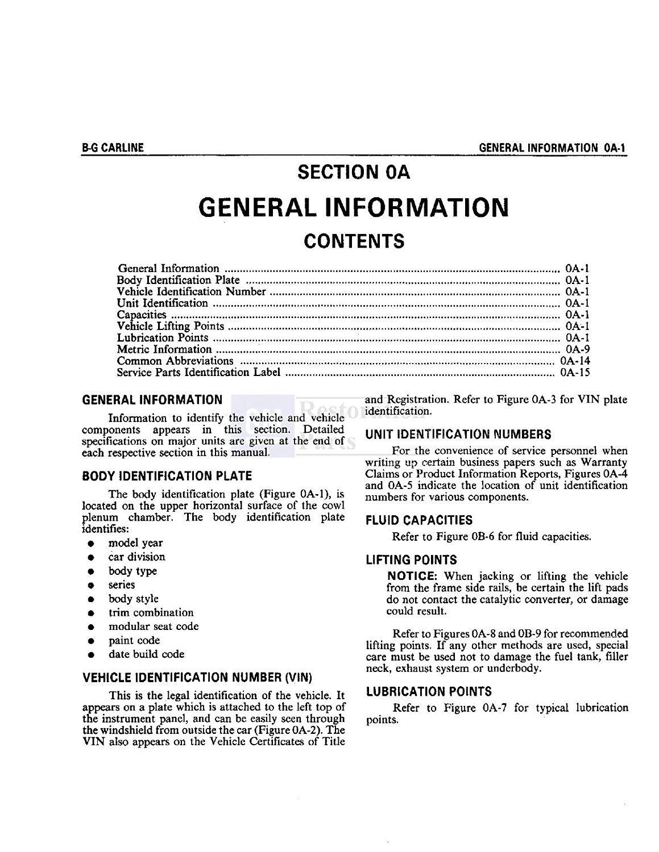 bishko automotive literature 1986 chevrolet caprice monte carlo el rh amazon in