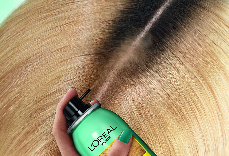 LOréal Paris Spray Instantané Corrector de raíces fundadas, Magic Retouch, rubio a rubio oscuro, 75 ml, 2 unidades
