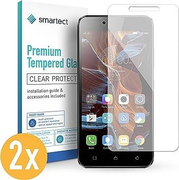 smartect Cristal Templado para Móvil Lenovo Vibe K5 / K5 Plus ...