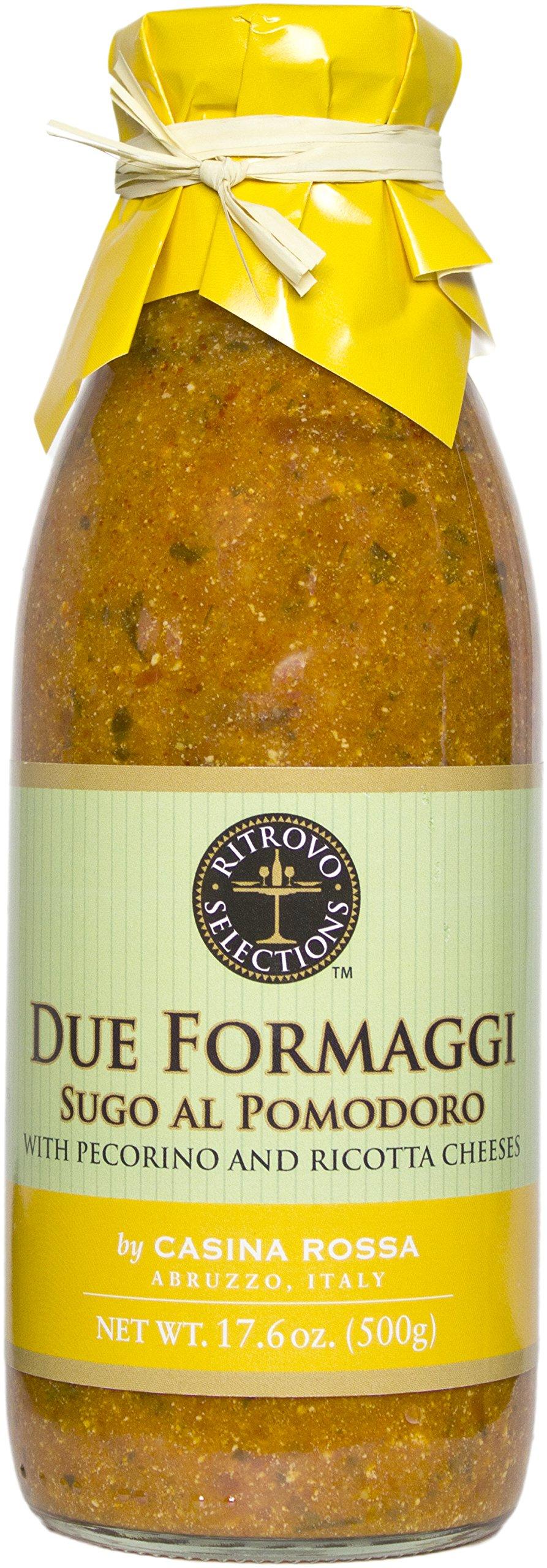 Casina Rossa Due Formaggi Pasta Sauce with Pecorino and Ricotta, 17.6 oz
