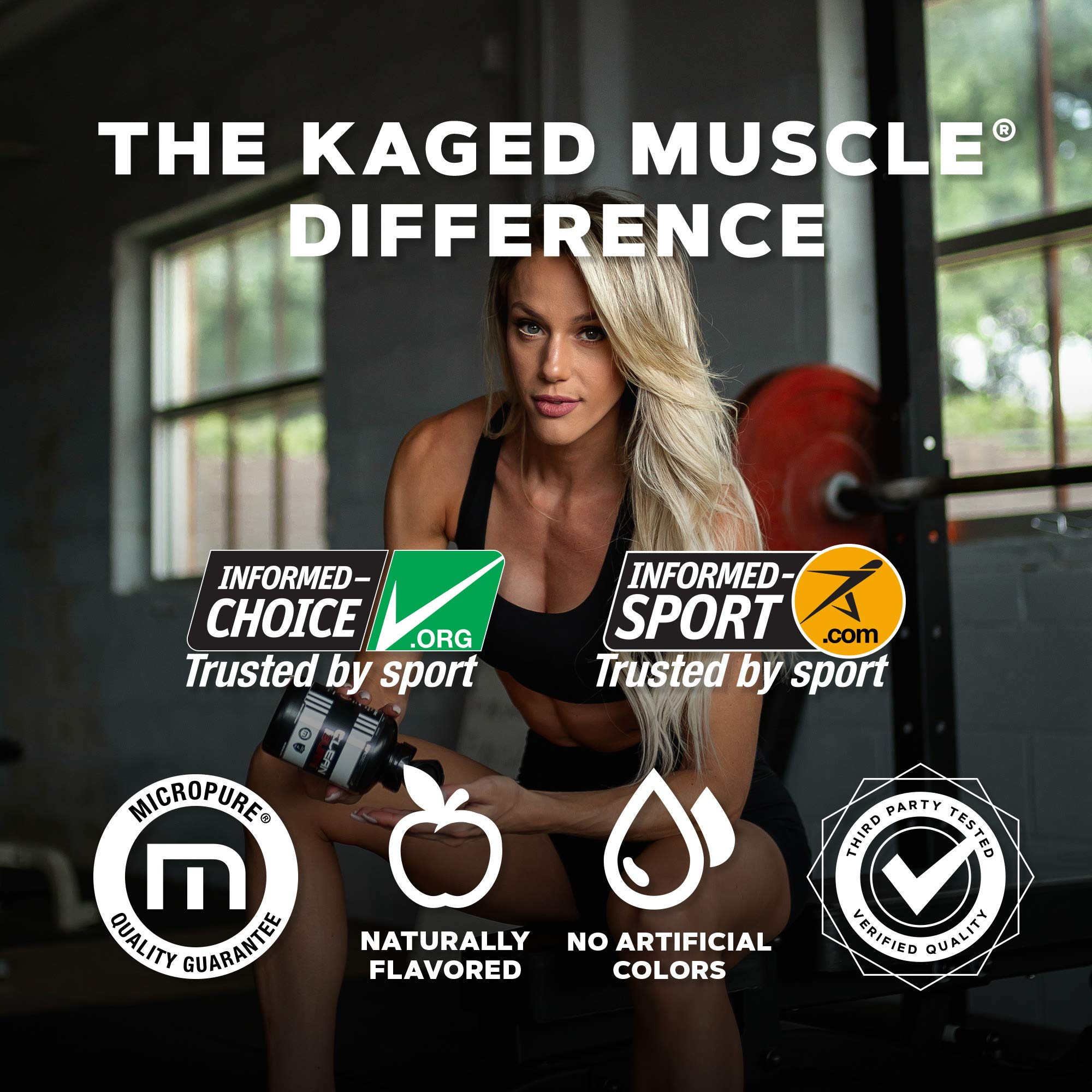 Kaged Muscle, Clean Burn Stimulant-Free Weight Loss Supplement for Men & Women, 180 Veggie Diet Pills by Kaged Muscle (Image #6)