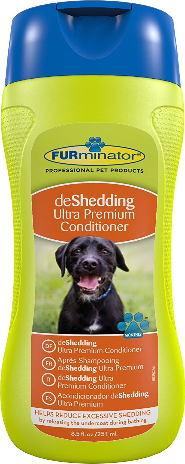 FURminator DeShedding Ultra Premium Conditioner for Dogs, 250ml Tetra UK Ltd 601002