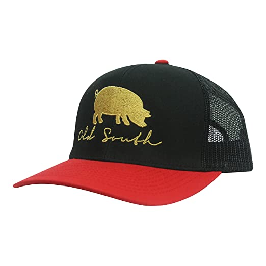 Image Unavailable. Image not available for. Color  Old South Apparel Pig - Trucker  Hat 774cb72cb115