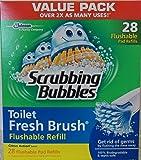 Scrubbing Bubbles Toilet Fresh Brush Flushable Refills, Citrus Scent