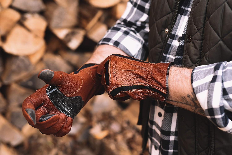 Bionic gdtnml toughpro naturalfit jardinería Guante, Grande, Color ...