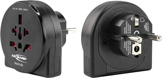 Ansmann Universal Reiseadapter World To Eu Elektronik