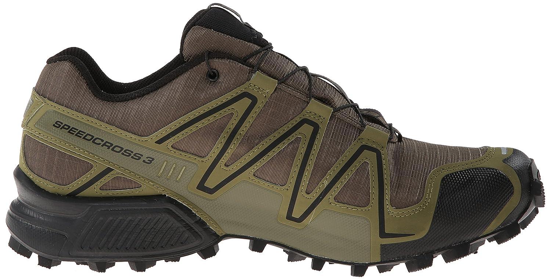 competitive price ccc2e 7bdde ... ireland amazon salomon mens speedcross 3 gtx running trail shoe dark  khaki black iguana green 8