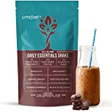 Plant Based Meal Replacement Shakes by LYFE Fuel A Complete Low Carb Breakfast for Men & Women Essential Nutrients + Vegan Pr