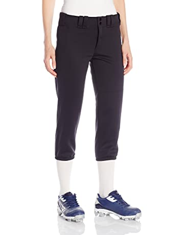 5f85499d5f Mizuno Adult Women's Belted Low Rise Fastpitch Softball Pant