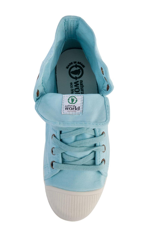 Natural World Damen Bota vegane Sneaker High Blau  Amazon.de  Schuhe    Handtaschen ed823daf56