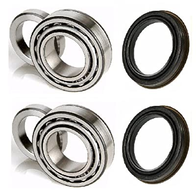 8USAUTO Rear Left and Right Wheel Bearing & Race fit 1999 2000 2001 2002 2003 2004 Jeep Grand Cherokee: Automotive