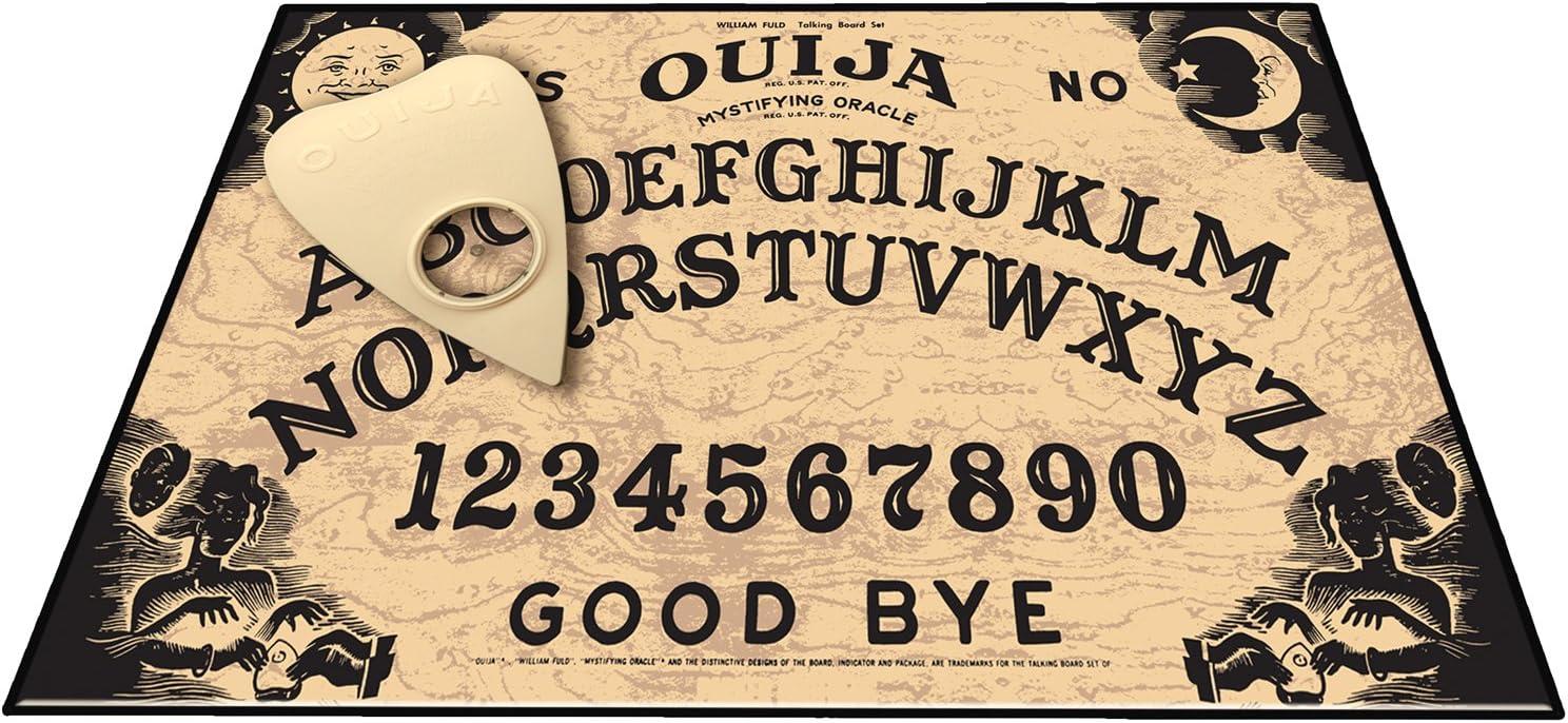 Spirit Board Mirror Box Gothic Mystic Wicca Ouija Board Jewellery Trinket Box